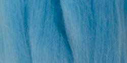 Clover Natural Wool Roving, Light Blue