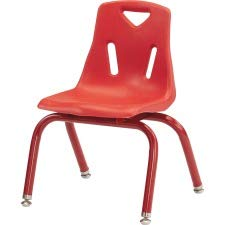 Jonti-Craft 8122JC1008 Berries Plastic Chairs with Powder Coated Legs, 12