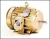 Baldor EM3581T General Purpose AC Motor, 3 Phase, 143T Frame, TEFC Enclosure, 1Hp Output, 1760rpm, 60Hz, 208-230/460V Voltage