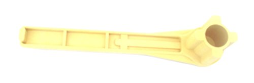 Gas and Bung Wrench Non Sparking Solid Drum Bung Nut Wrench (Yellow) -