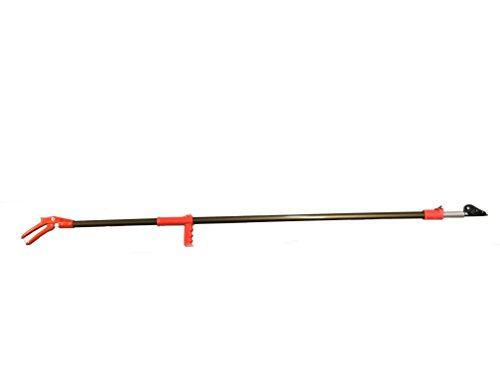 Nobi Telescopic Long Reach Pruner with Pruning Saw Extends 69 to 118 Inches (Made in Japan)