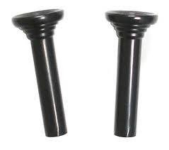- 1967 CAMARO DOOR LOCK KNOB BLACK - PAIR