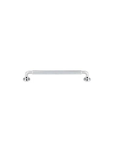 Top Knobs TK825PC Serene Collection 7-9/16'' Lily Pull, Polished Chrome by Top Knobs