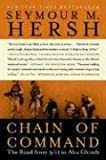 Front cover for the book Chain of Command: the Road from 9/11 to Abu Ghraib by Seymour M. Hersh