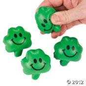 24 Mini Shamrock Relaxable Balls -- Stress Tension Anxiety Relief