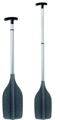 Paddel Stechpaddel Teleskoppaddel Hilfspaddel in schwarz