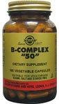 Solgar, B Comple 50Mg, 100 Vegetable Capsules
