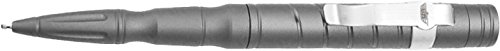 UZI Tactical Pen LED Light Tactical Pen in Ultra Durable Aircraft Aluminum with LED Light, Gun Metal ()
