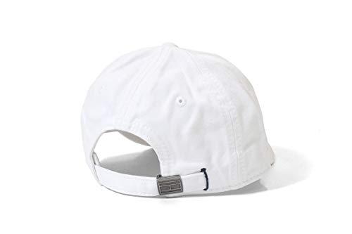 para Talla Blanco Gorra Hombre Tommy Hilfiger béisbol Blanco única de qHZwFIx8