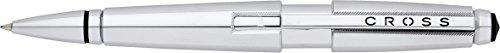 Cross Edge Capless Gel Ink Pen, Polished Chrome (AT0555-8) (Edge Cross)