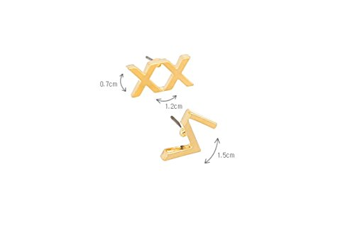 VIXX - Initial Earring [VX60] (Gold)