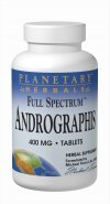 Planetary Herbals Andrographis Full Spectrum 400mg, Traditional Winter Herb,120 Tablets For Sale