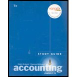 Study Guide Chapters 1-13 and CD, Horngren, Charles T., 0131351729