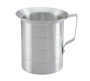 Winco Measuring Cup, 1 Quart Capacity, Aluminum [ AM-1]