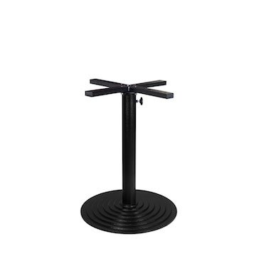 Valencia Round Umbrella Dining Table Base (Round Base) by Contract Style