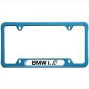 bmw i license plate frame