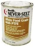Bostik NSWT-14 White Food Grade Never-Seez 14oz. Can