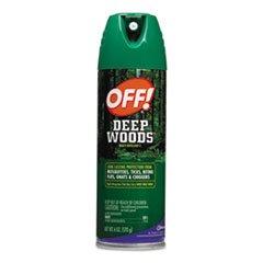 Deep Woods Off!, 6oz Aerosol, 12/carton By: OFF!