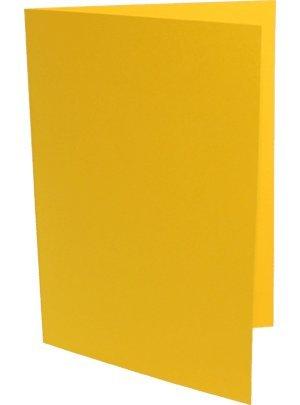 90 Bastelkarten DIN Lang ( DL ) sonnengelb B003KW1XE2 | Verkaufspreis