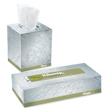 KIM21272 Kleenex Facial Tissue, Cube Box, 95 Tissues