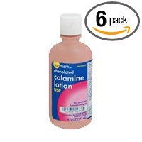 Sunmark Calamine Lotion Phenolated - 6 oz, Pack of 6 by Sunmark