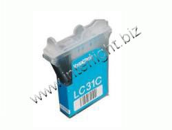Brother LC31C Cyan InkJet Cartridge, Works for MFC 3820CN, PPF - Inkjet Cyan Lc31c