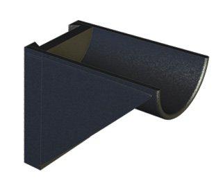 Standard Dovetail (Sunlight Supply, Inc. SNAPTURE SNAPSTAND PLASTIC SUPPORT STAND PIECES - DOVETAIL 90 DEGREE)