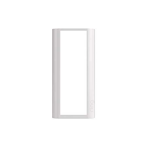 Ring Peephole Cam Faceplate - Pearl White