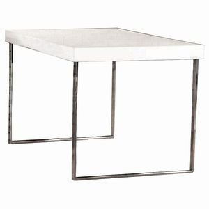 Large Modern White Display Tables by Retail Resource