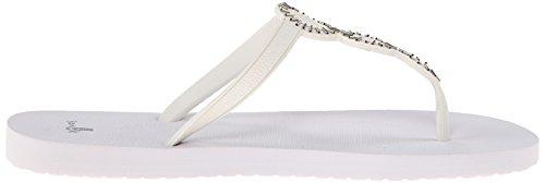Sanuk Ellipsis Ladies Flip Flops White White