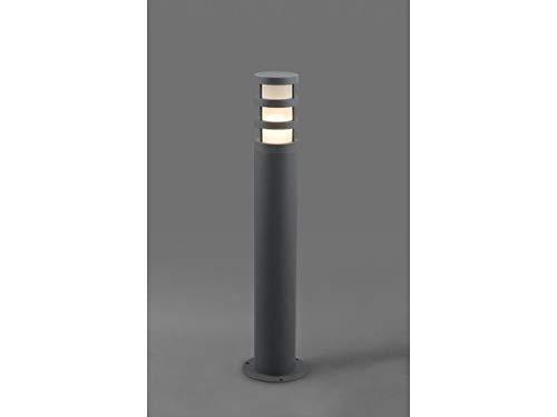 Moderna lámpara de pie en antracita/aluminio, E27 max. 20 ...