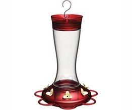 Garnet Hummingbird Feeder - Garnet HumBird Feeder 20 oz (Bird Feeders) (Hummingbird Feeders ) (Hummingbirds)