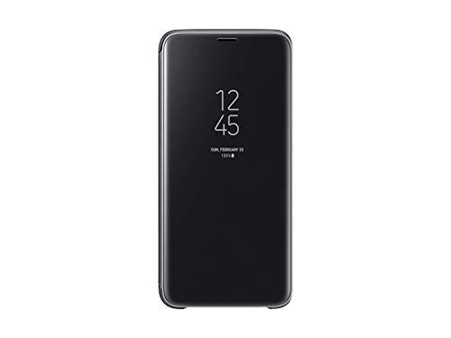 Samsung Galaxy S9 S-View Flip Case with Kickstand, Black - - Case Flip Black
