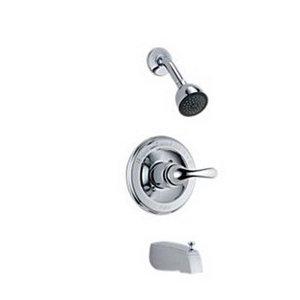 Delta Faucet T13420 - Juego de tapacubos para monitor de presión y alcachofa de ducha (