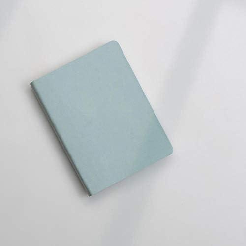 Taschenkalender 2020 2020 A6 Tagebuch-Notizbuch-Tasche Mini-Taschen-Notizbuch-A6 Soft Surface Checkered Smoke Blue 2020 Planer-Tagebuch