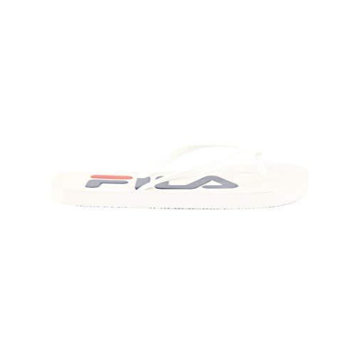 Fila Troy Femme Wmn white Base 1fg Blanc Slipper Mocassins Sport rqwrtnxg