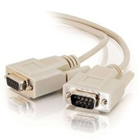 15ft DB9 M/F Extension Cable - Beige