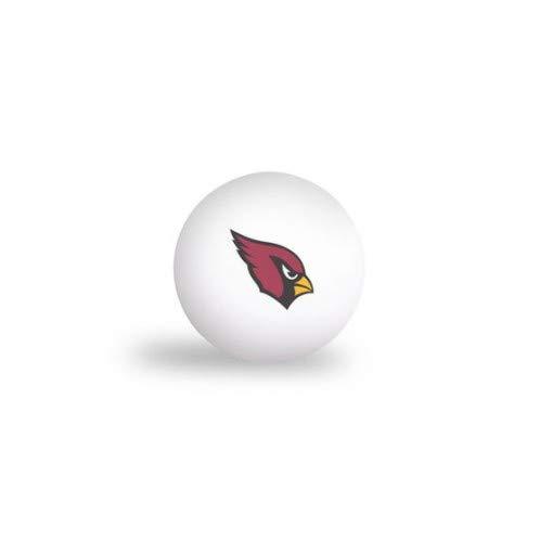 WinCraft NFL Arizona Cardinals PING Pong Balls - 6 Pack ()