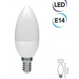 Electraline 63239 Bombilla LED, Casquillo E14, luz fría, 500 Lumen, 7 W