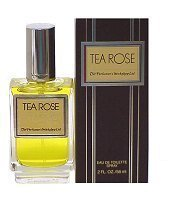 - Tea Rose Womens Perfume 4 oz 120 ml EDT eau de toilette Spray