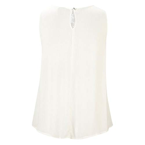 Shirt Ladies cou Couleur Patchwork du Fit Robemon Ras Out Fashion Lace Summer Slim Of Pure Débardeur Casual Camisole Sleevelees ABdx4qwU