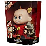 The Incredibles 2 Amazing Lovable Jack-Jack Equipped with Lights and Sounds Comes with Toy Raccoon ()