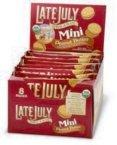 Late July Mini Peanut Butter Sandwich Cracker (4x8/1.125z)