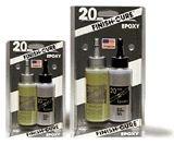 - Finish-cure 20min epoxy 4.5oz Bob Smith Ind.