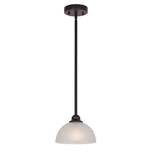 Circular Glass Pendant Light in US - 8