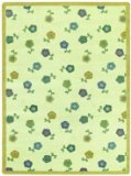 Joy Carpets Kid Essentials Infants & Toddlers Awesome Blossom Rug, Soft, 5'4
