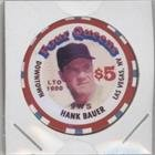Hank Bauer #/1,000 (Baseball Card) 1996 Four Queens $5 Casino Chips - [Base] #HABA.1 from Four Queens $5 Casino Chips
