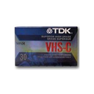 TDK TC-30EHG VHS-C Cassette 2-Pack (Discontinued by Manufacturer)
