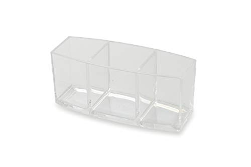 - Galileo Casa Make-Up Pen Holder 3 Compartments Marilyn, Dimensions: L 18.2 x D 7.1 x H 7.9 cm