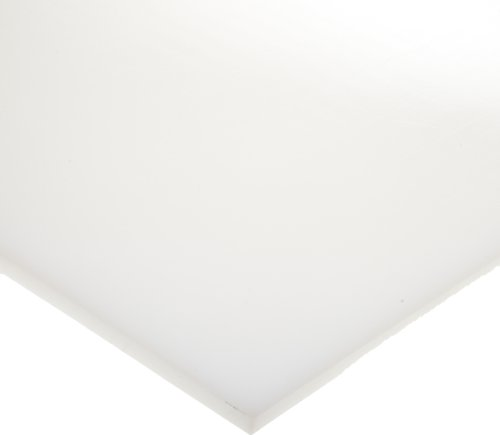 - HDPE (High Density Polyethylene) Sheet, Opaque White, Standard Tolerance, UL 94HB, 1/2